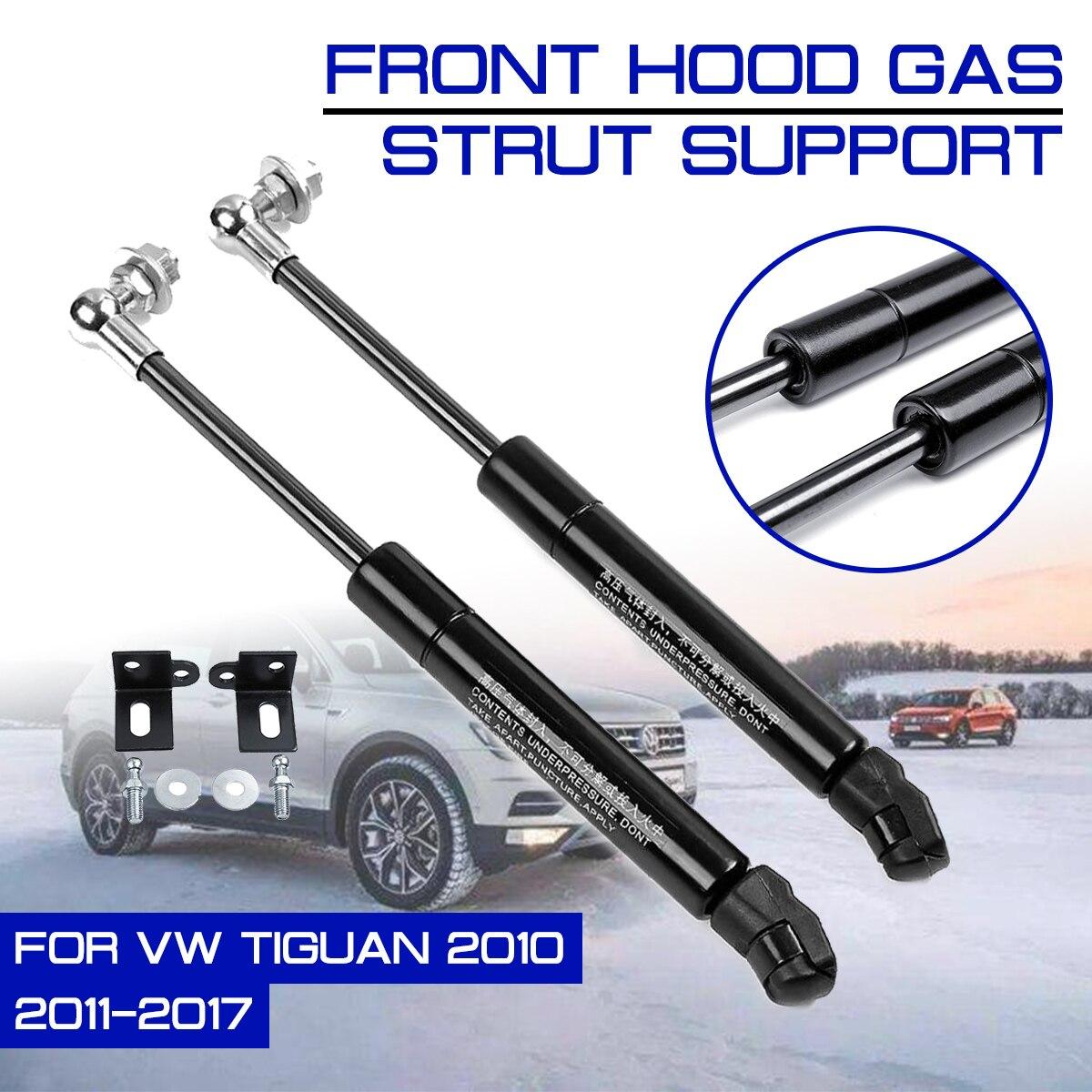 Front Engine Cover Refit Bonnet Hood For Volkswagen VW Tiguan 2010-2017 Gas Shock Lift Strut Bars Support Rod